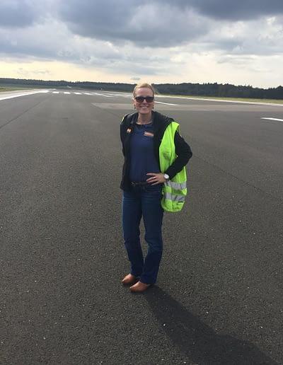 Michaela Steininger auch Am Flughafen Vertreten
