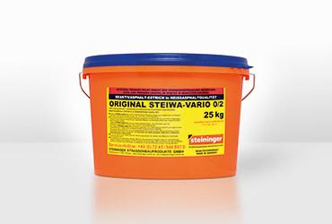 ORIGINAL STEIWA-VARIO 0/2 1K Premium-Asphalt-DSK-Dünnschicht-Mörtel
