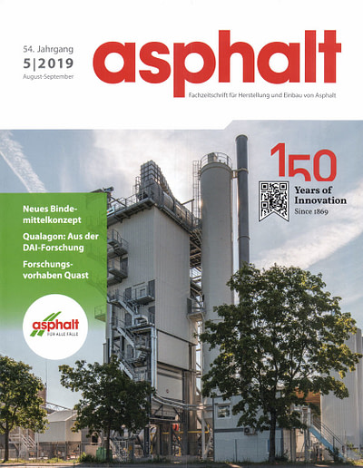 Fachartikel 2019 STEININGER Im ASPHALT MAGAZIN DAV 1