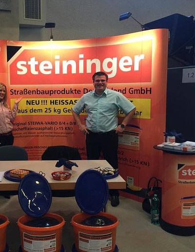 Steininger auf der Messe Mannheim