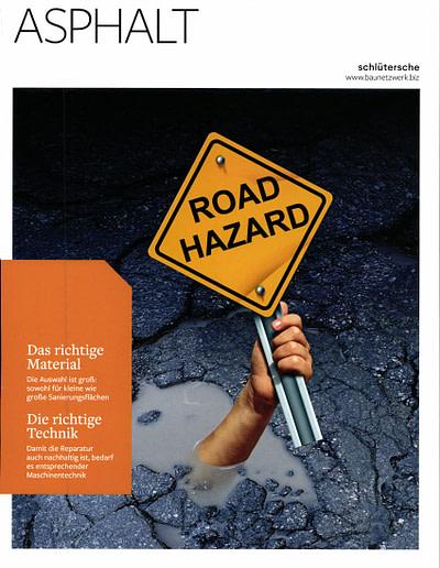 Sachverständigen Interview 2019 STEININGER Im Fachmagazin ASPHALT UND BITUMEN Sonderausgabe Reparaturasphalt 1